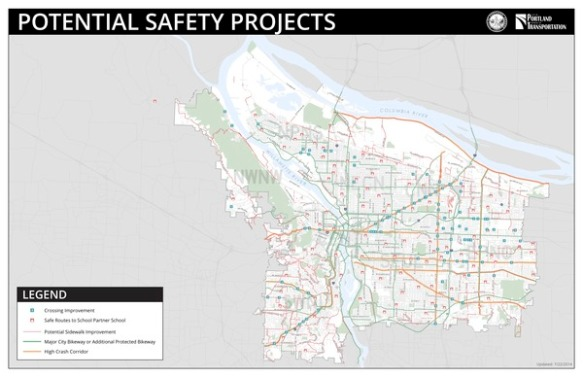 Potential Safety Projects Map 2